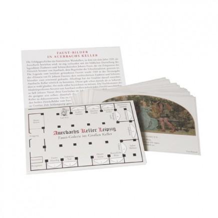 Postkartenband Auerbachs Keller Leipzig