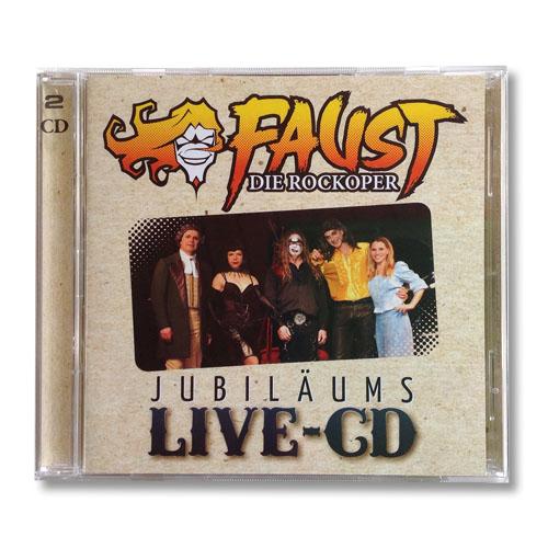 FAUST – Die Rockoper Jubiläums-LIVE-CD