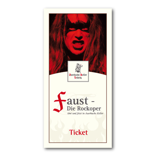 Ticket für Faust – Die Rockoper