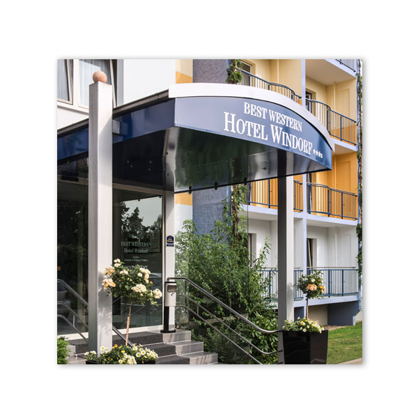 Auf Goethes Spuren & Best Western Hotel Windorf