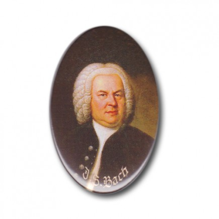 Magnet Bach Gemaelde