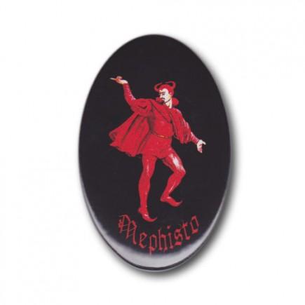 Magnet Mephisto rot
