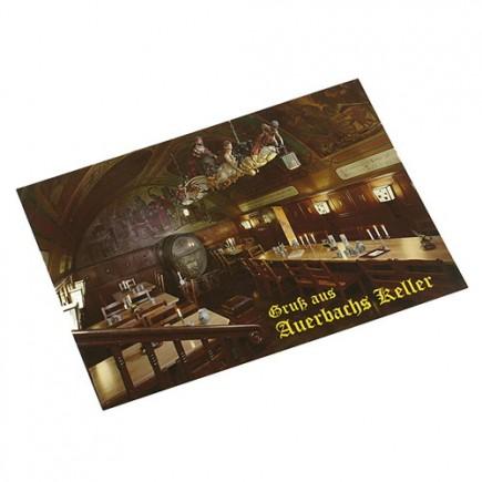 Postkarte Historischer Fasskeller