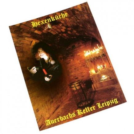 Postkarte Gewölbe Hexenküche