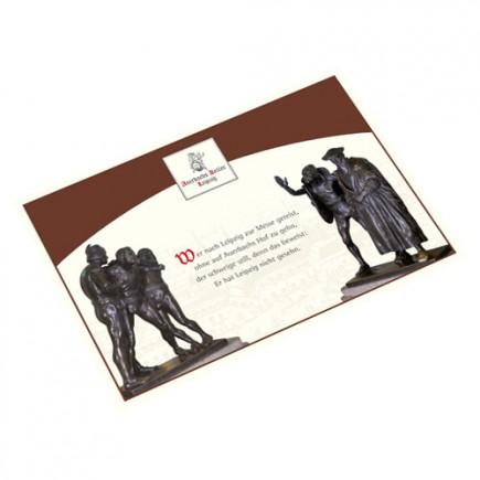 Postkarte Skulpturen