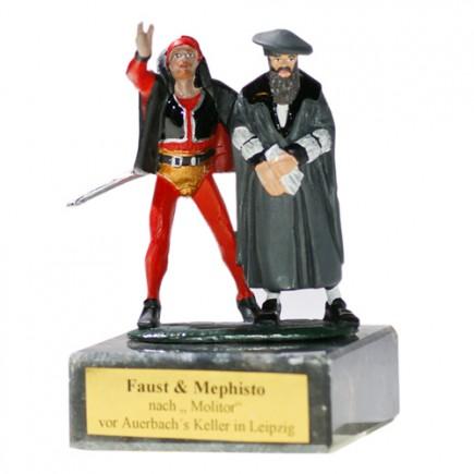 Zinnfiguren Faust & Mephisto