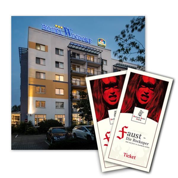 Rockoper & Best Western Hotel Windorf