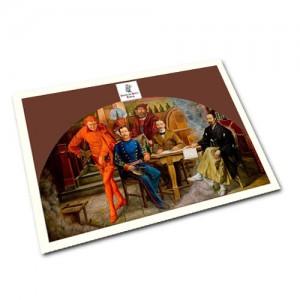 Postkarte Volker Pohlenz – Mori Ogai 1