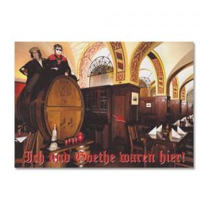 Postkarte - Fassritt 1