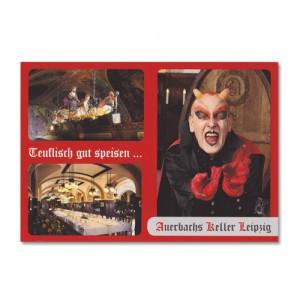 Postkarte - Teuflisch gute Speisen 1