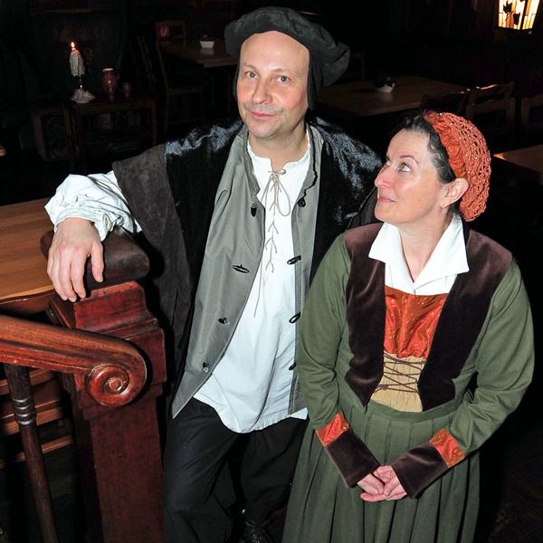 Die Luthers privat – Tafelfreuden und Tischreden beim Ehepaar Luther