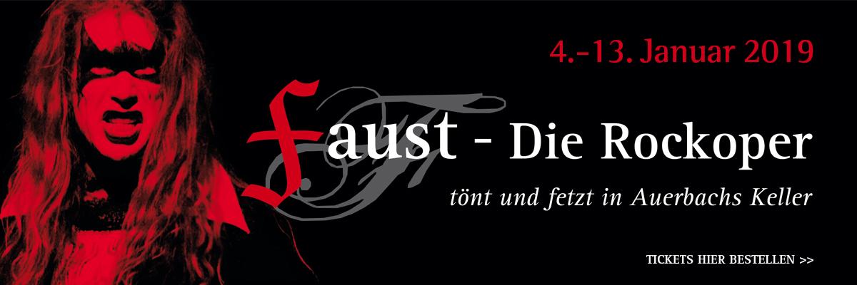 """Tickets für """"Faust – Die Rockoper"""" 2019"""