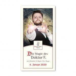 Ticket ZUR MAGIC-SHOW: Die Magie des Doktor F. mit Nico Haupt