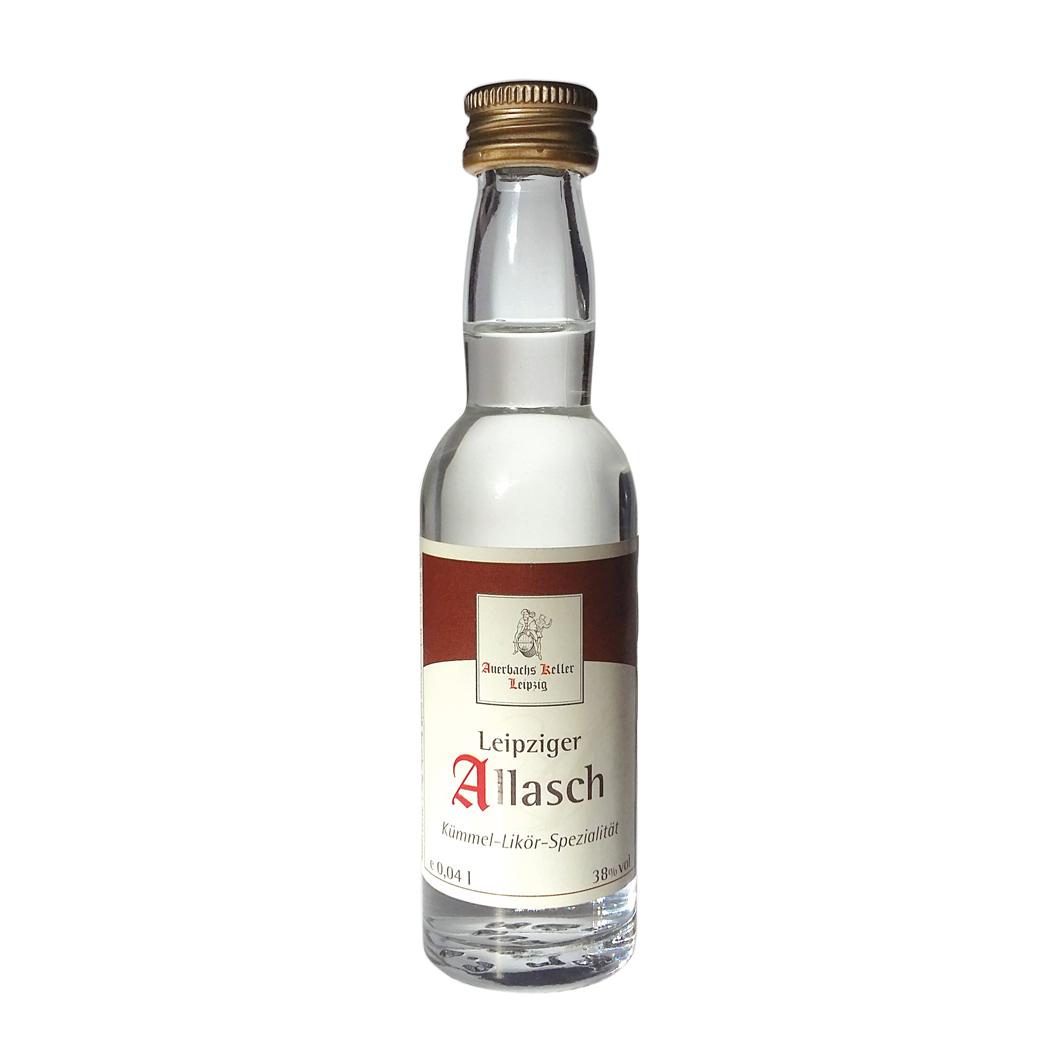 Leipziger Allasch Miniflasche