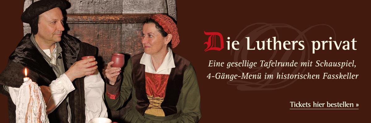 """Tickets für """"Die Luthers privat"""""""